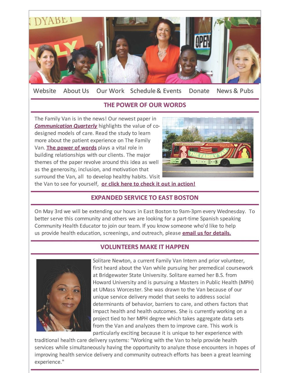 CURRENT NEWSLETTER CLICK HERE