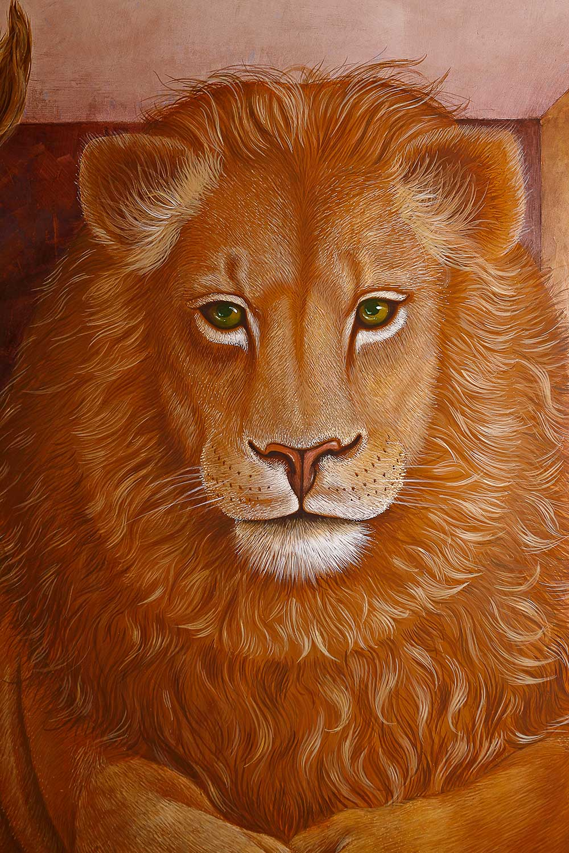 Lion . detail