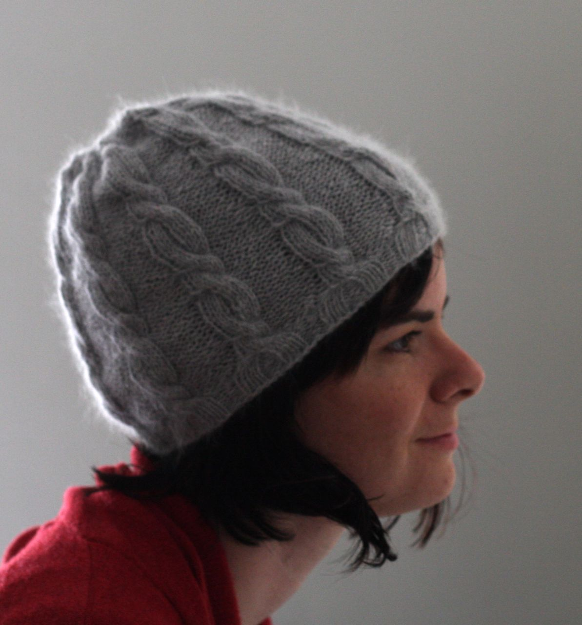 cabled hat 4