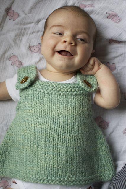 Knitting Pattern For Baby Frock : New Pattern Teaser   Hannah Fettig