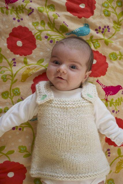 New Pattern: Baby Frock — Knitbot by Hannah Fettig