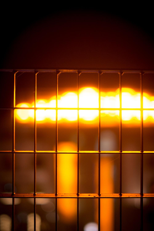 Sodium Sun  Installation by Jenni Kääriäinen