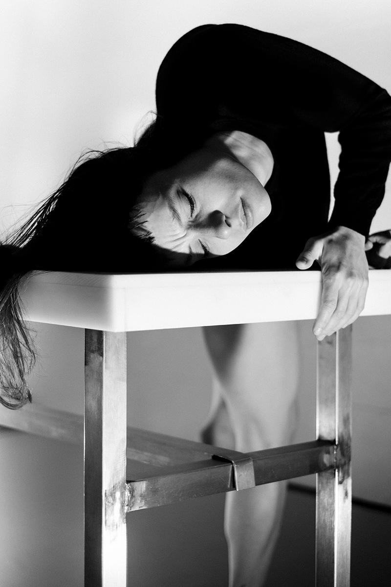 Judith Desse, contemporary dancer in Lausanne, Switzerland.