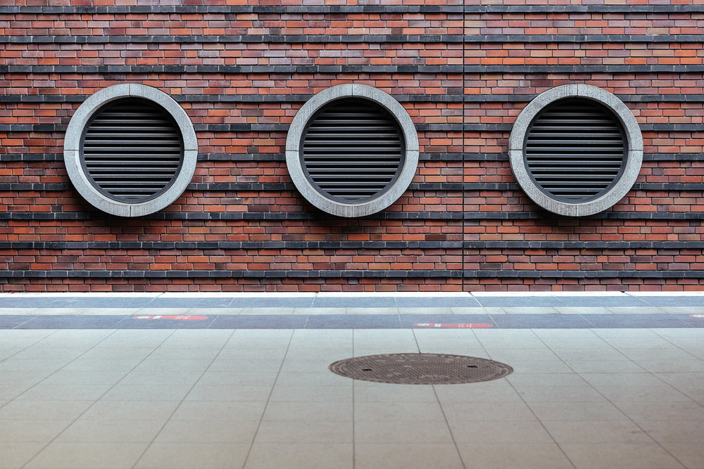 Vents from a S-Bahn Ringbahn station.