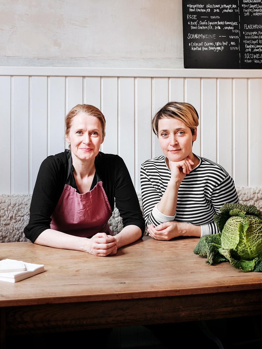 Claire Guerrier and Maya Totaro, La Fourchette