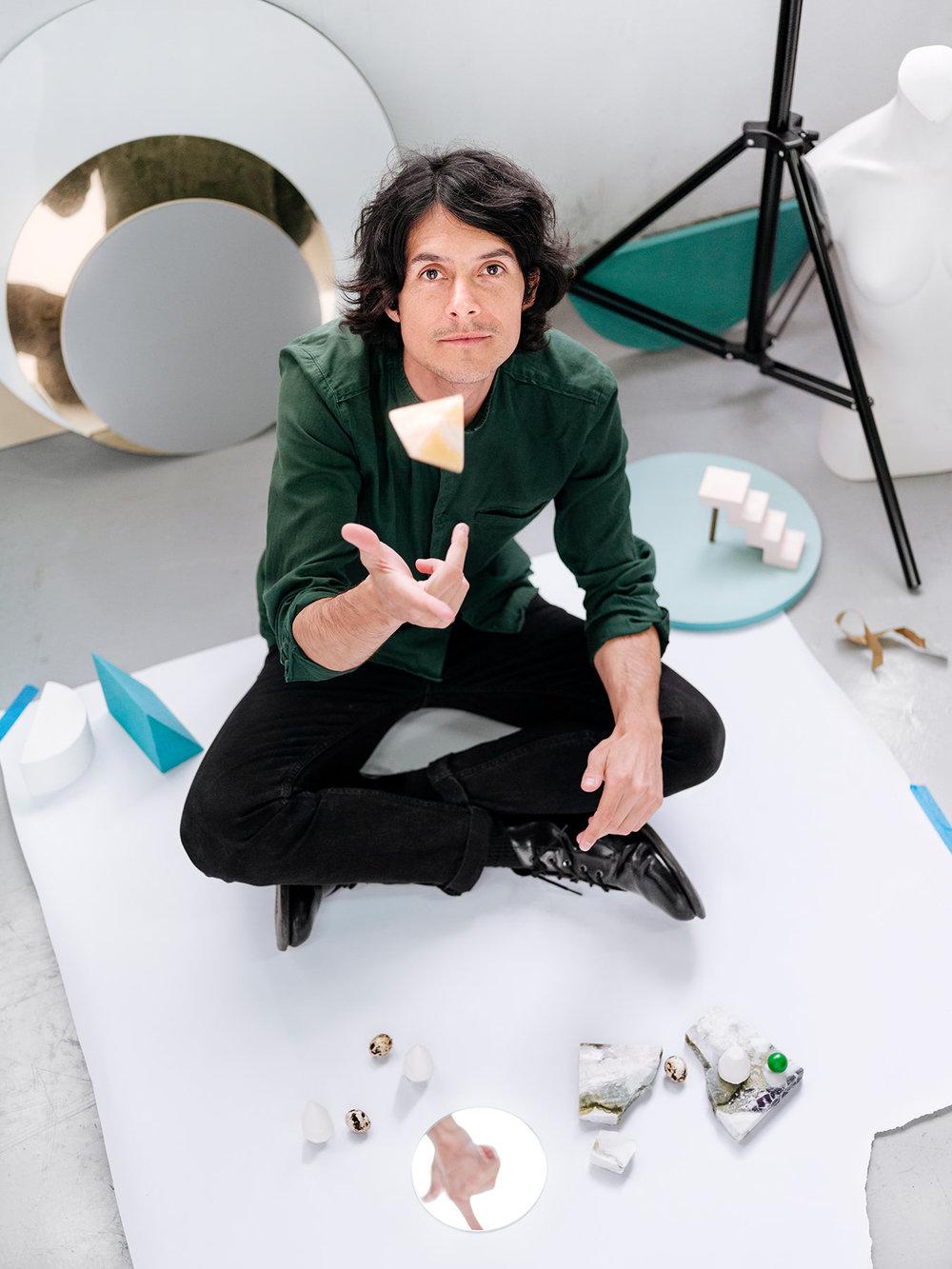 Daniel Forero, photographer & set designer, Paris.