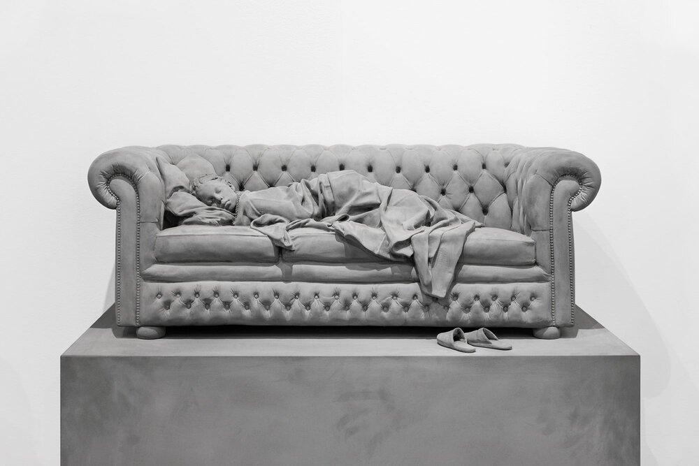 'Sleeping girl' Hans Op de Beeck - Galleria Continua