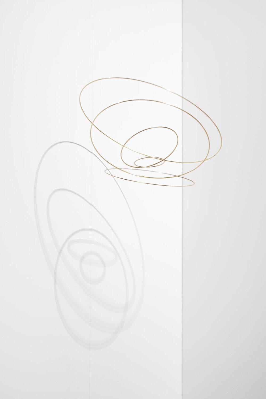 'Circuconcéntricos Cuivre-50' Elias Crespin - Galerie Denise René, Paris