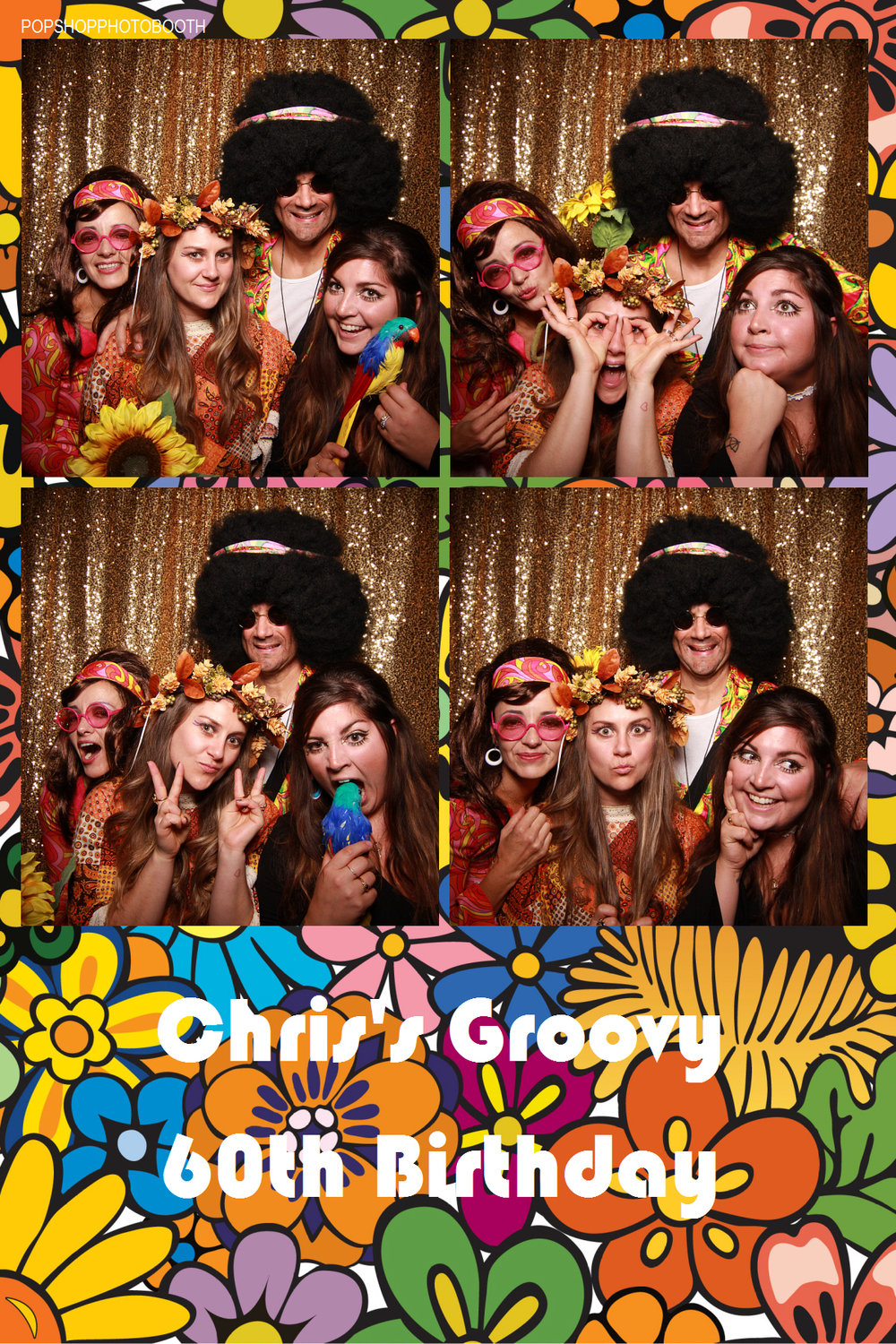 Chris's groovy 60th Birthday! October 22, 2016