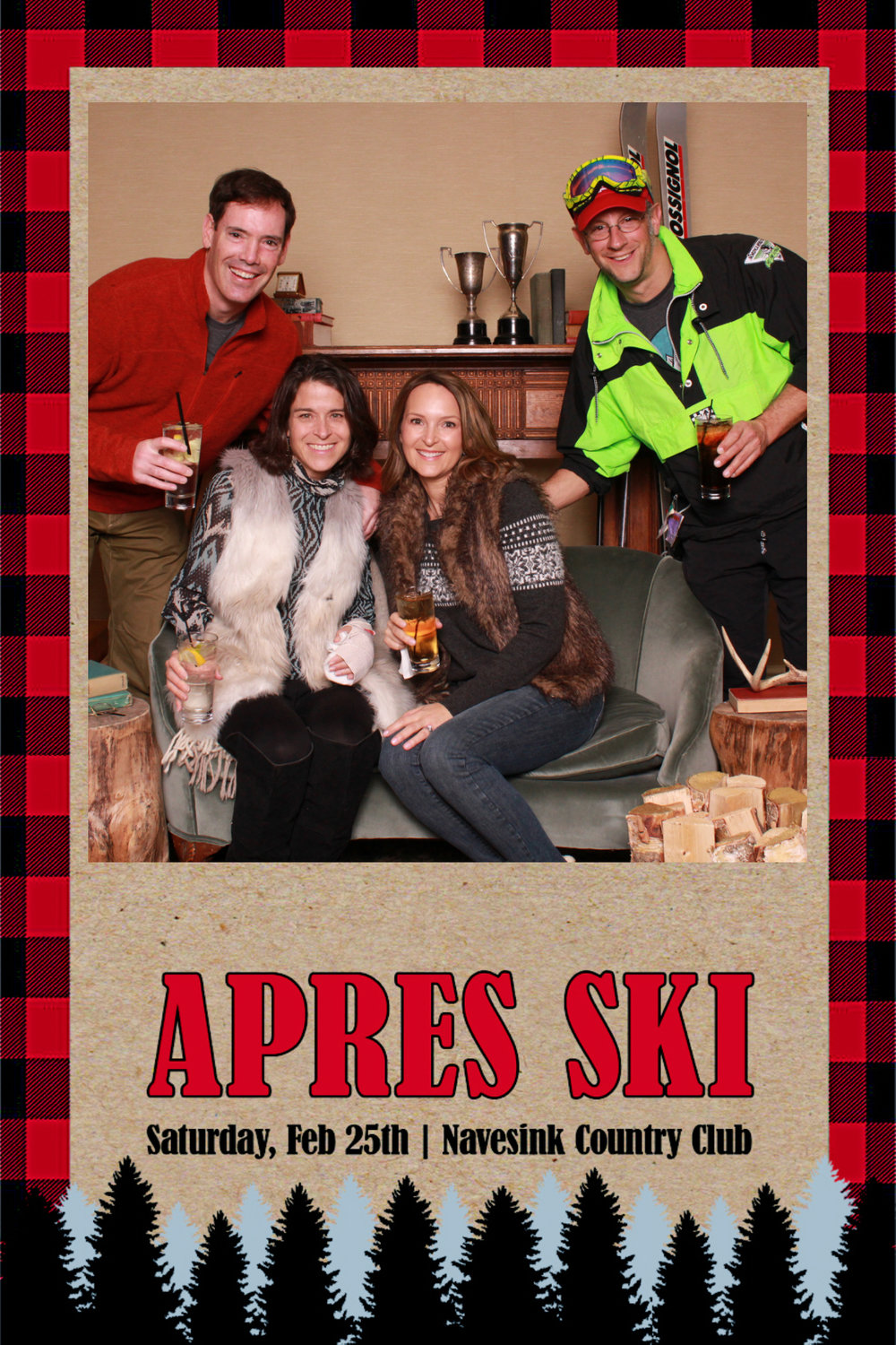 APRES SKI AT The NAVESINK COUNTRY CLUB February 25, 2017