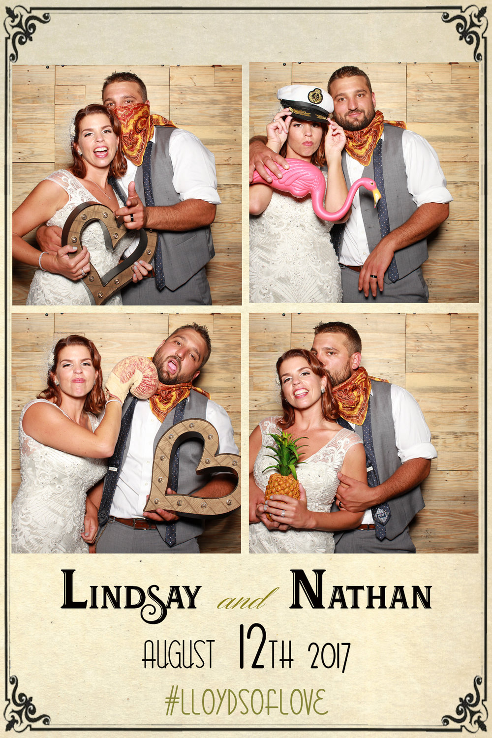 Lindsay and  Nate August 12th,  2017