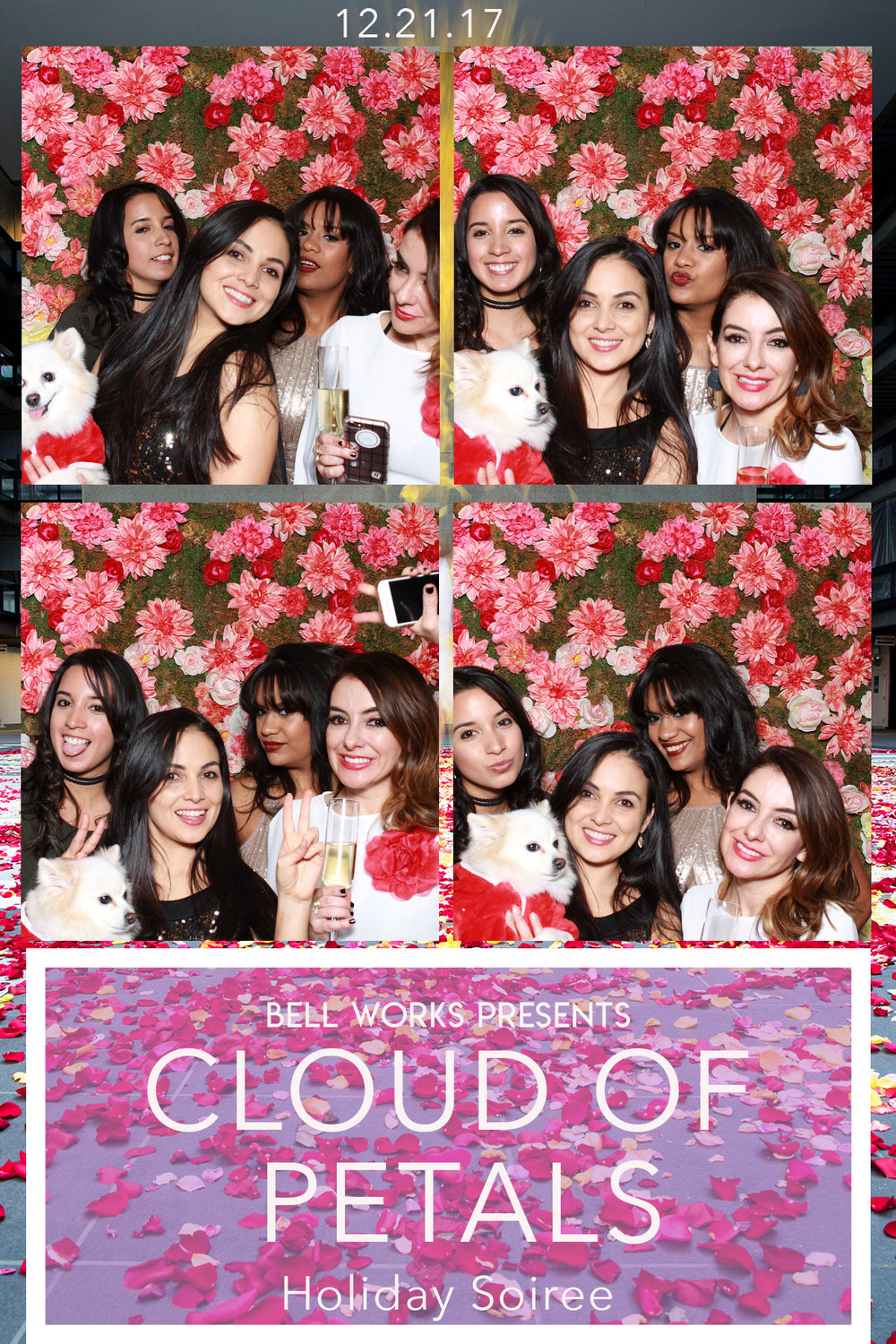 BellWorks Cloud of Petals Holiday Soiree