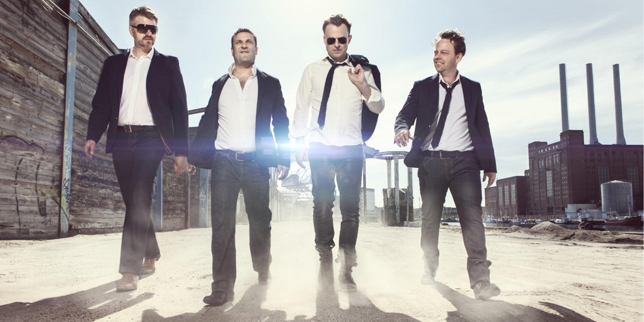4 X TENOR. Last week we shot this image of 4 opera singers @ Nordhavn in Copenhagen. Link to image.