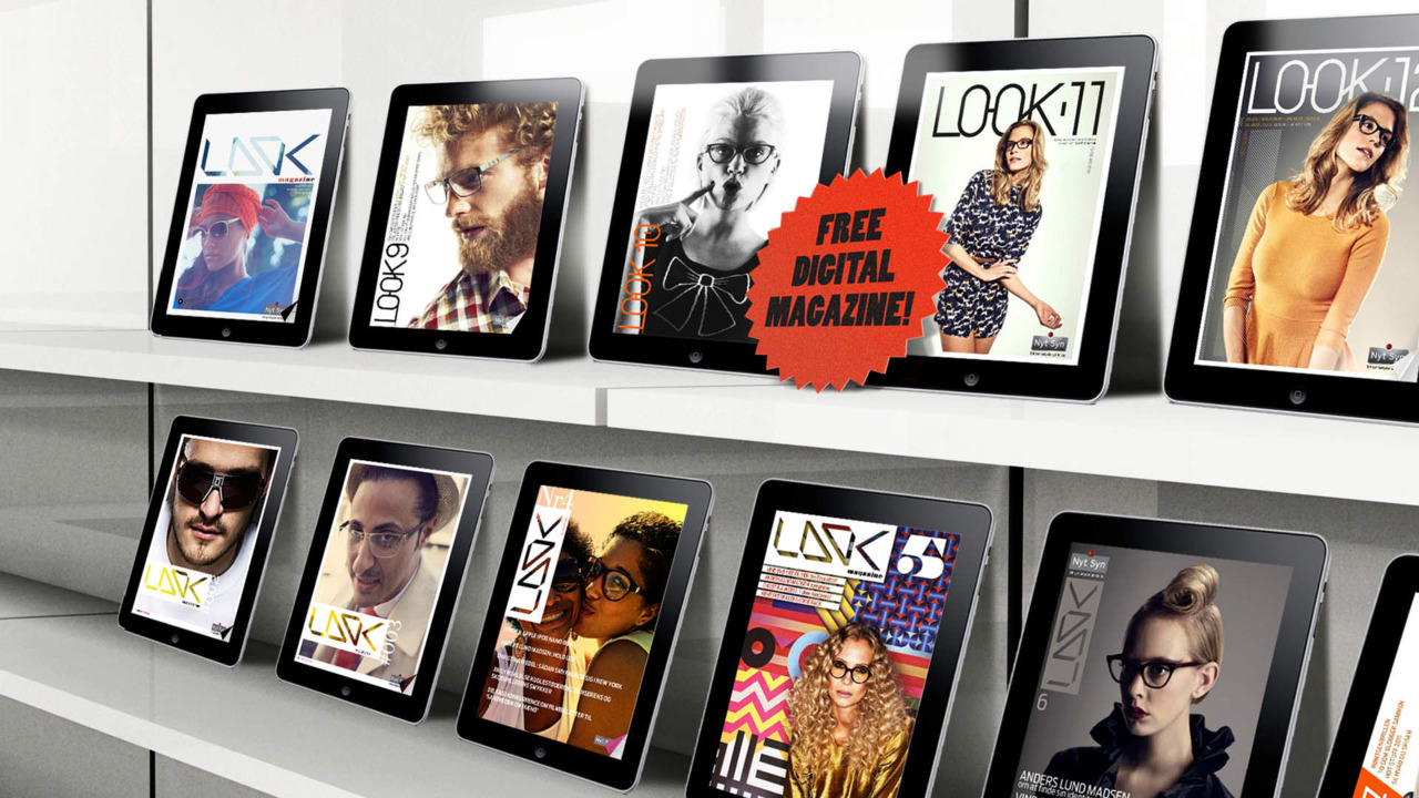 A collection of  covers  we have shot for Nytsyn online magazine (danish eyewear stores).