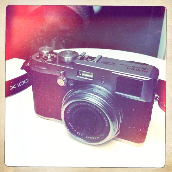 My New Camera Fuji X-100 Today my new baby arrived ;)  This camera is just so sweet and the lens is absolutely fabulous!!! Bettie XL Lens, Ina's 1969 Film, No Flash, Taken with Hipstamatic