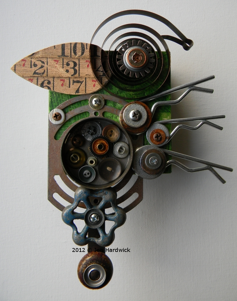 """Mechanical Bird"" (Side profile)"