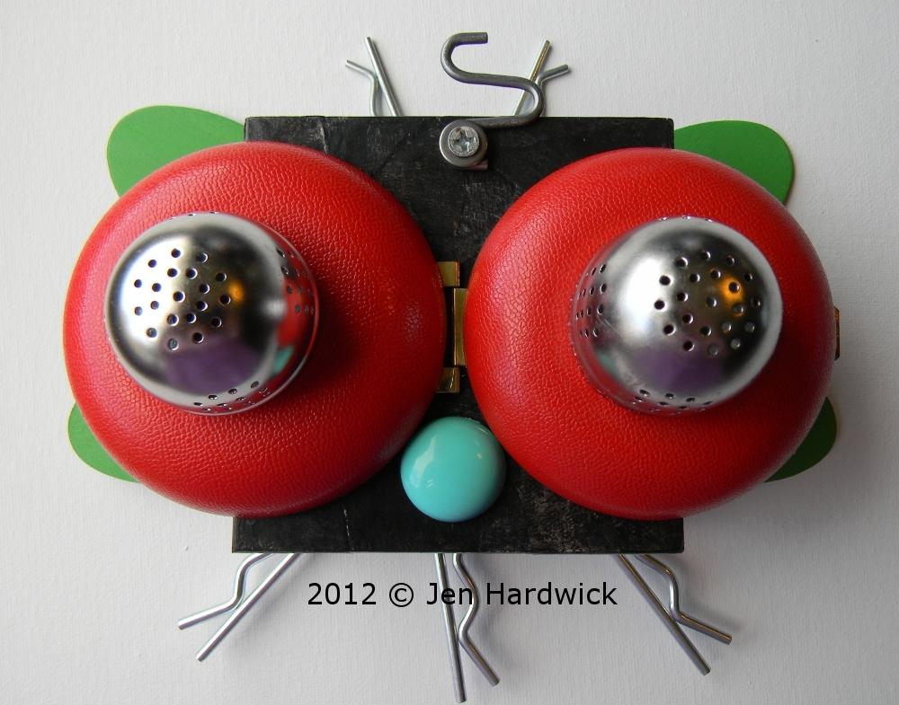 """""""Squiggy, the big-eyed bug"""""""