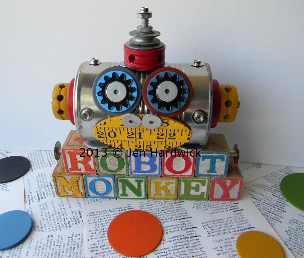 """""""Robot Monkey"""""""