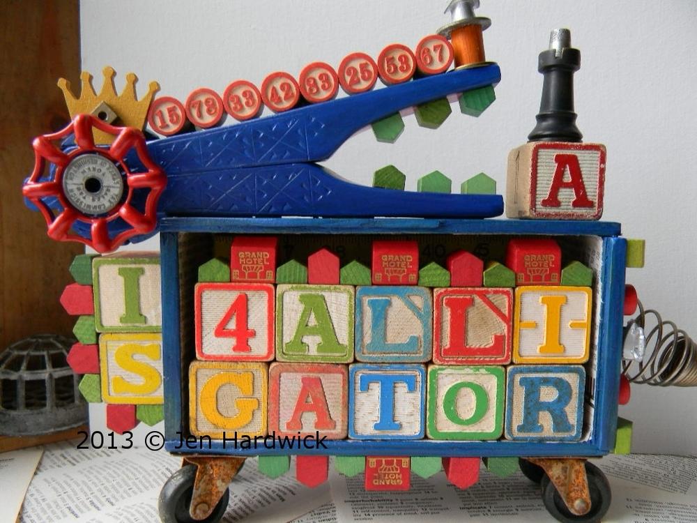 """Alligator Blue"""
