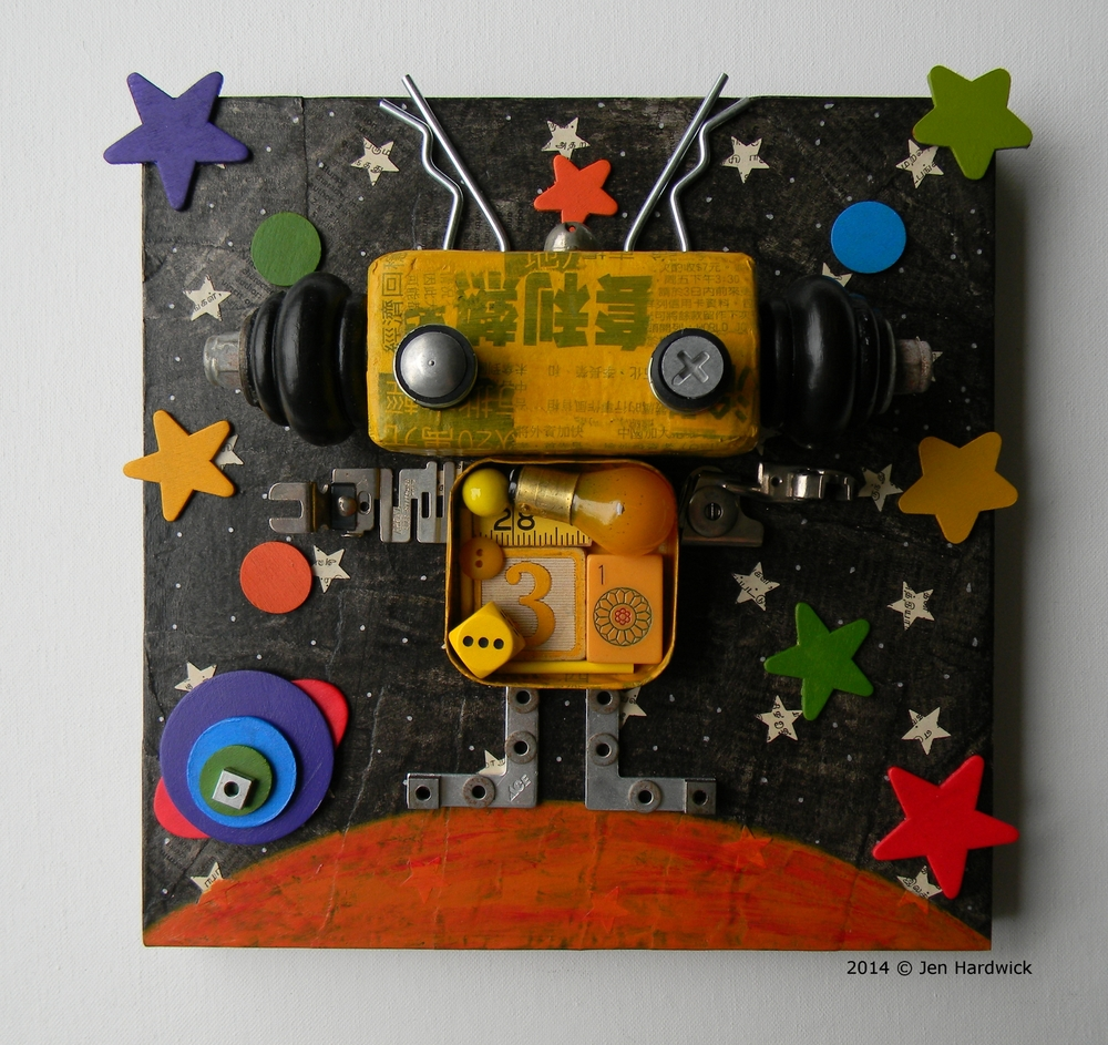 """""""Mr. Yellow - Color Bot Series"""