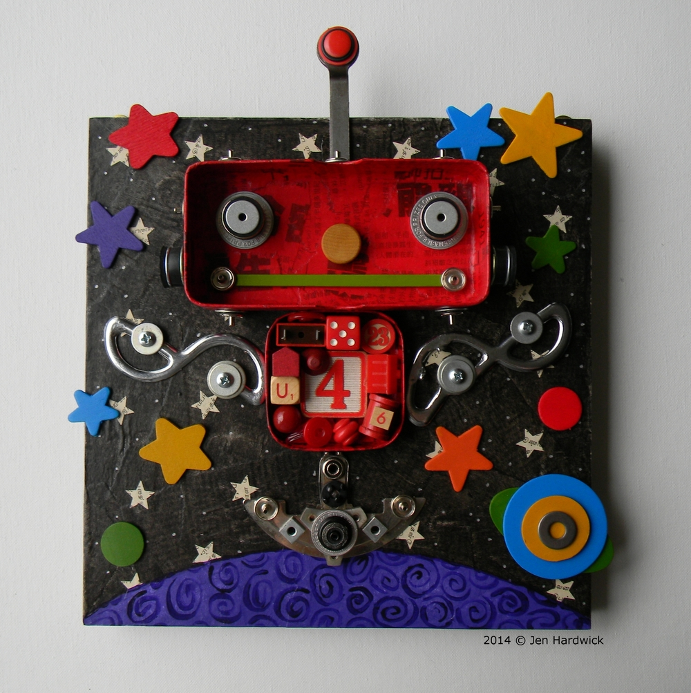 """""""Mr. Red"""" - Color Bot Series"""