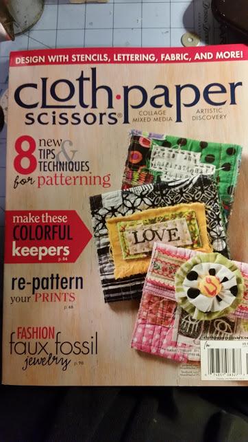 Cloth Paper Scissors - Magazine feature