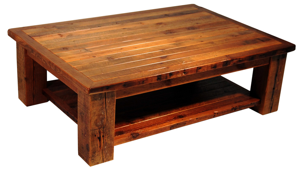 Coffee Tables Reclaimed Rustic Woodworks