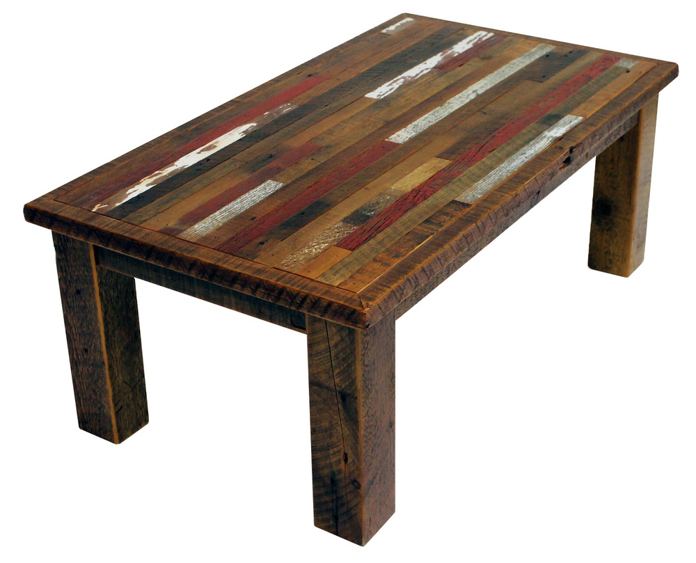 Coffee Tables — Reclaimed Rustic Woodworks