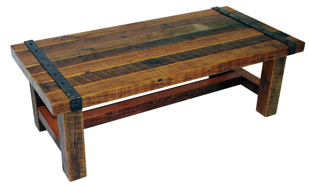 Coffee Tables Reclaimed Rustic Woodworks - 4ft coffee table