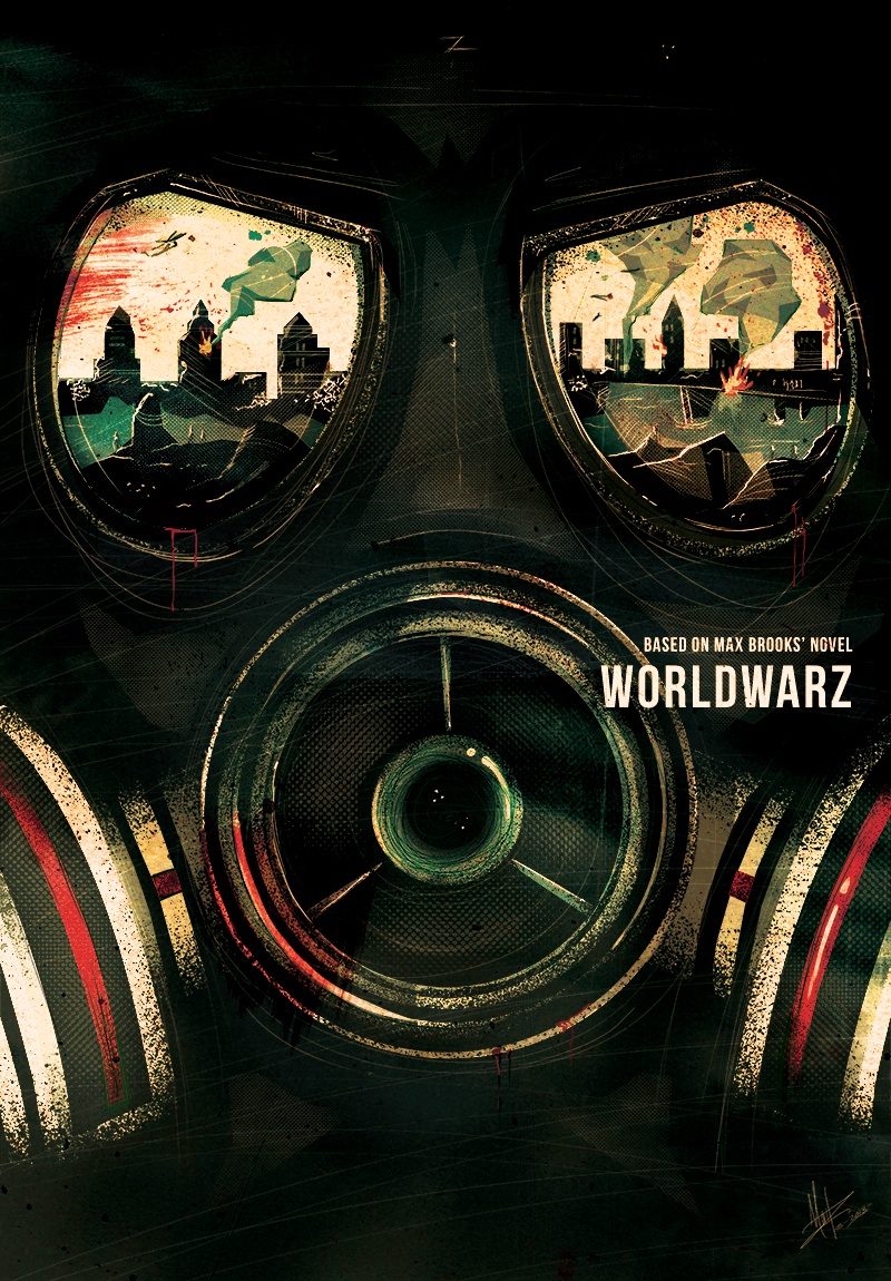 World War Z by Marie Bergeron