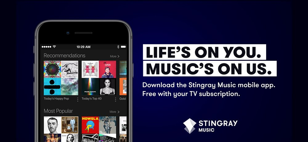 Stingray+Music