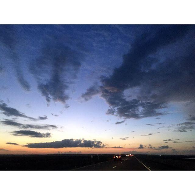 Sunrise over Mobile, Alabama ❤️💖❤️💖