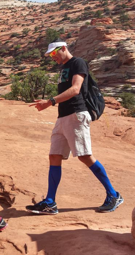 OK - Andy Potts maybe makes casual compression look cool. If Andy does it, we all should do it.