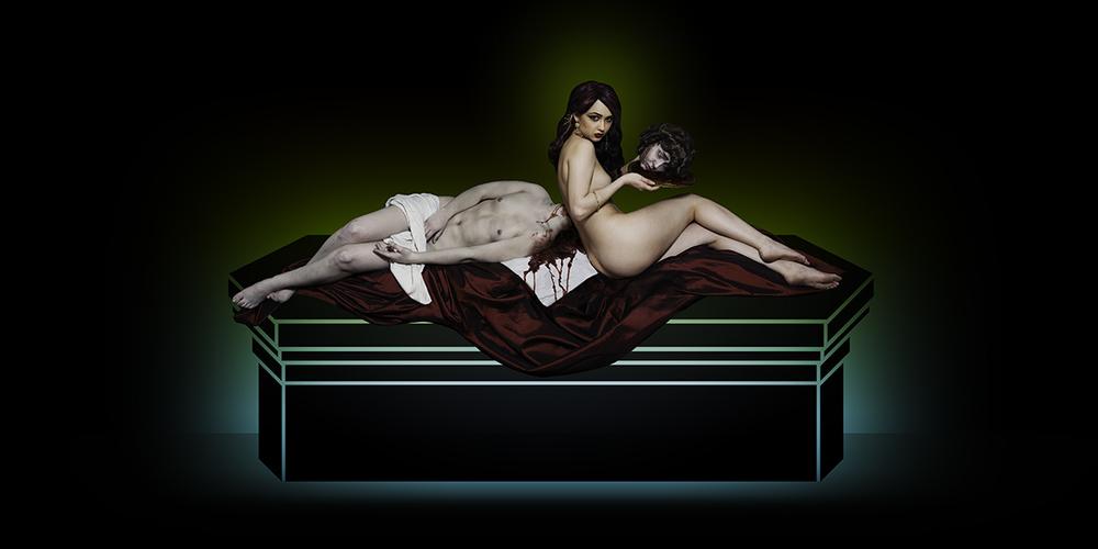 Untitled Tableau #2 (La Fille Fatale), 2014