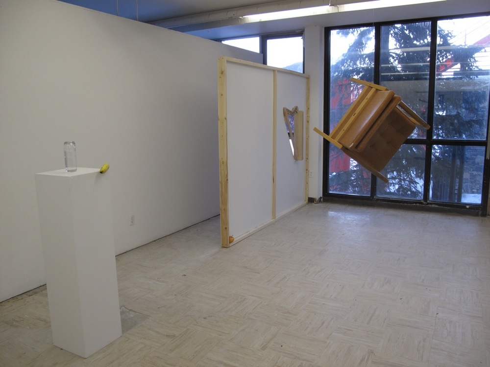 The Decapitated Museum Open Studio (Banff Centre) Installation View