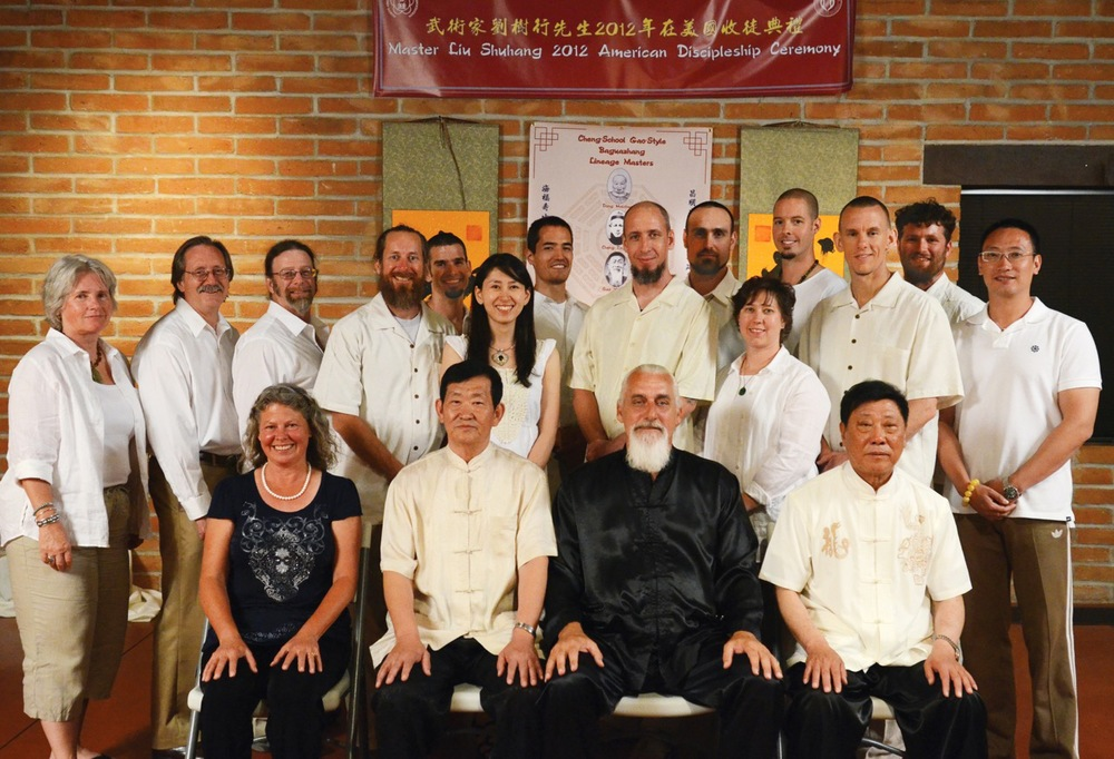 First American disciples of Liu Shuhang and the Cheng-School of Gao Yisheng Bagua.  Tucson, AZ