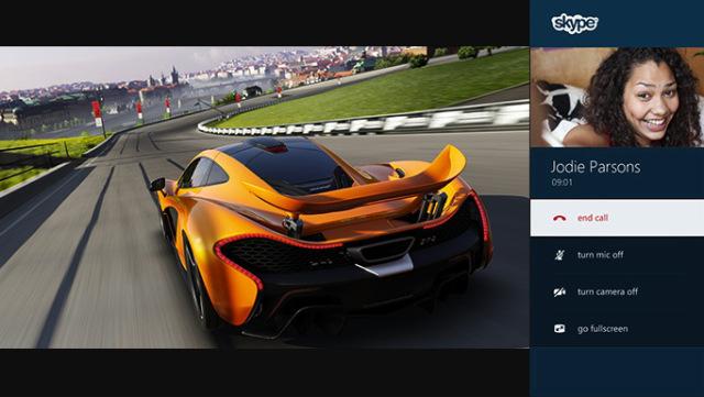 Forza & Skype integration (Xbox One)