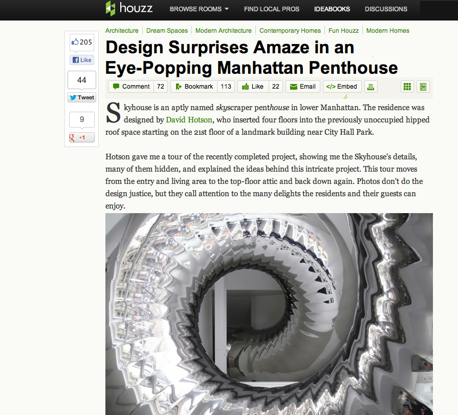 John Hill, editor-in-chief of World-Architects e-Magazine, posted a thoughtful story on Houzz....