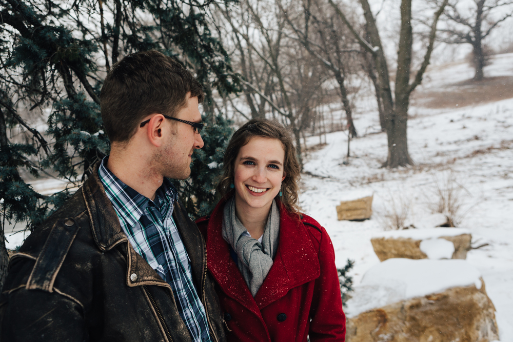 Winter's Engagement Session
