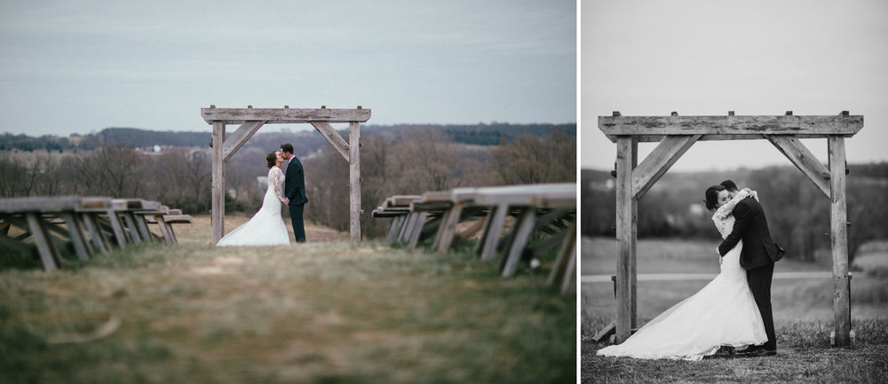166_Weston Red Barn Farm Winter Wedding Kansas City, Missouri_Kindling Wedding Photography.JPG