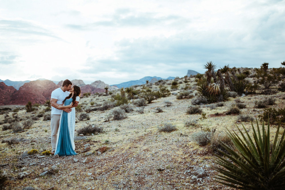 182_Red Rock Canyon Desert Engagement Session Las Vegas, Nevada_Kindling Wedding Photography.JPG