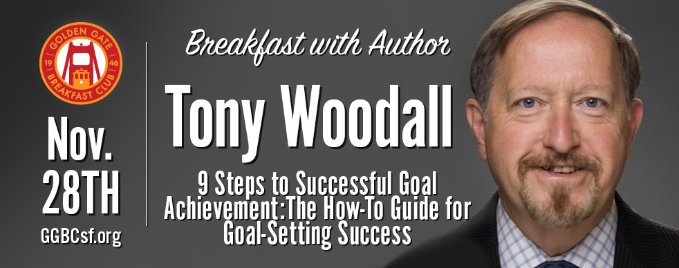 Many people set goals. Not everyone is able to achieve their goals. Why? How can you set goals that can be achieved? The 9 Steps to Successful Goal Achievement provide the framework to Get the Goals You Set. Join us for an interview with fellow GGBC Member and author, Tony Woodall.