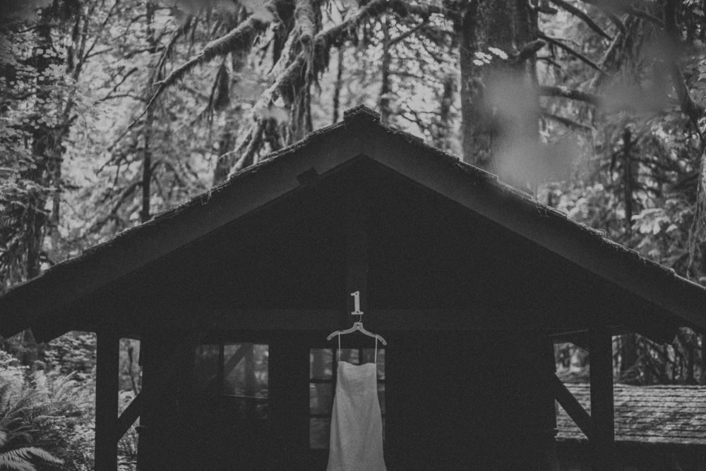 Lisa & Brendan's Silver Falls Wedding