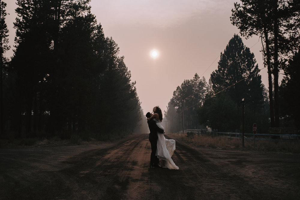 Lauren + John | Bend Elopement