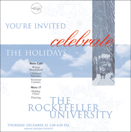RU holiday invitation