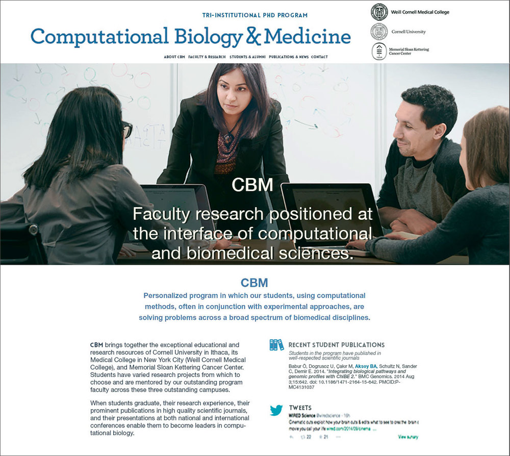 Computational Biology & Medicine