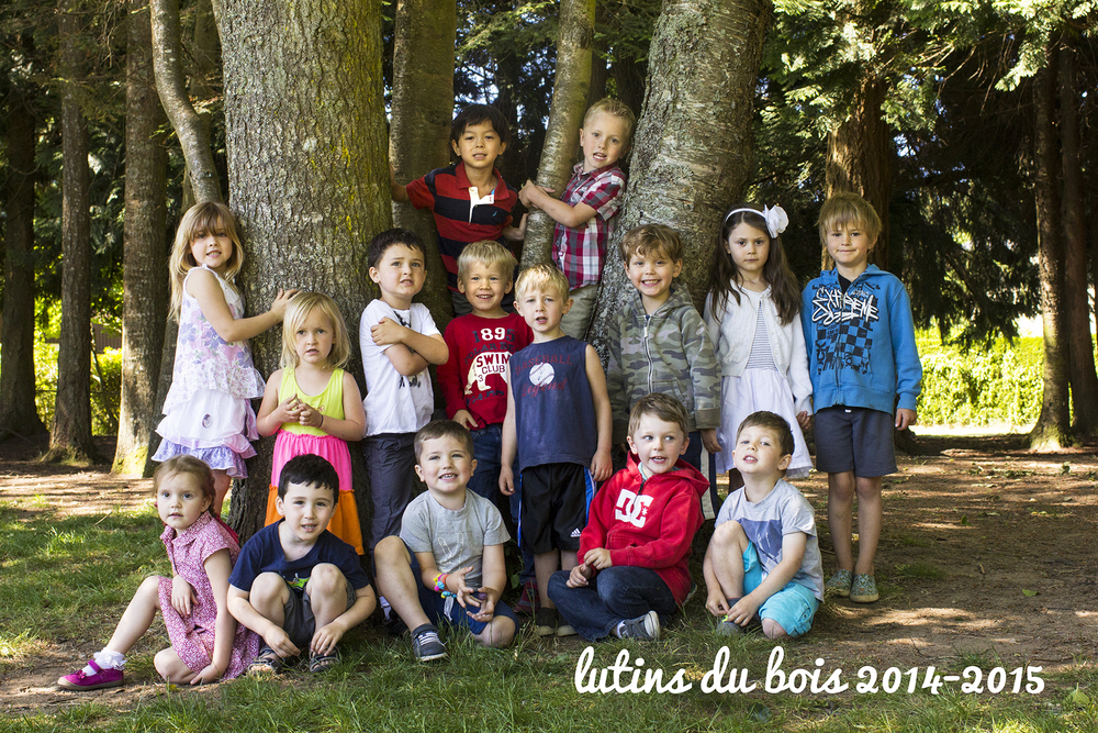 Lutins du Bois Class of 2015 (Tuesday + Thursday)