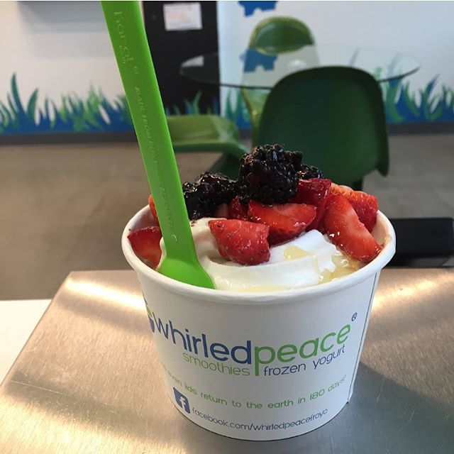 Is there anything better than this on a day like today?... #summerindecember #froyo