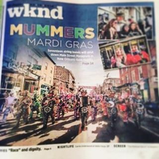 #MUMMERS ARE IN #MANAYUNK TOMORROW!! Come watch the parade from the comfort of #whirledpeacefroyo !