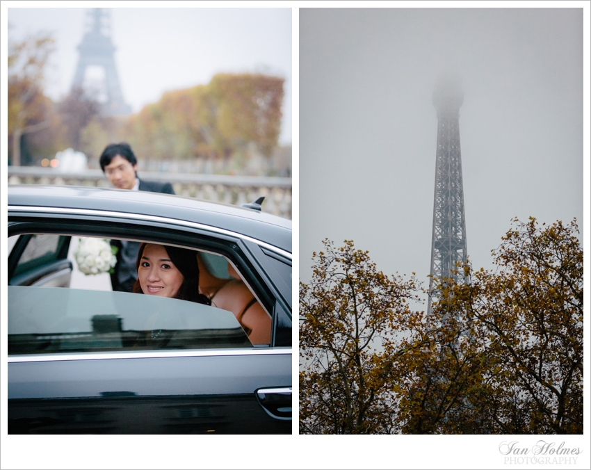 elopement, Paris, France, Eiffel Tower